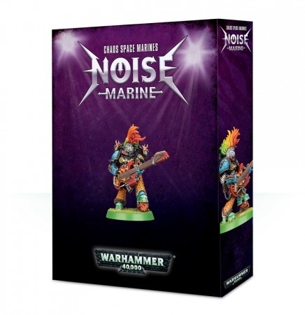 Chaos Space Marines - Noise Marine