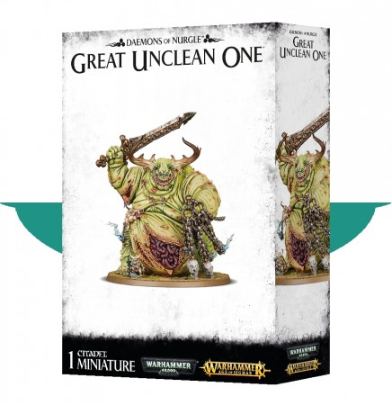 Chaos Daemons - Daemons of Nurgle Great Unclean One