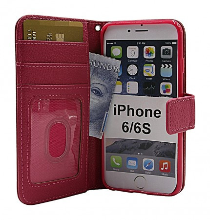 iPhone 6/6s - New Standcase Wallet - Hotpink