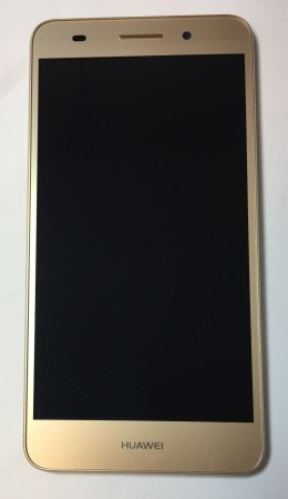 Huawei Y6II - LCD med ramme - Gold