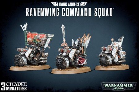 Dark Angels - Ravenwing Command Squad