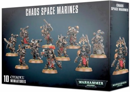 Chaos Space marines - Squad