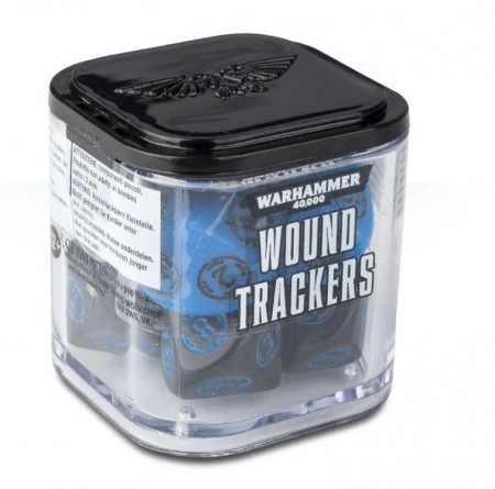Warhammer 40K - Wound Trackers Dice
