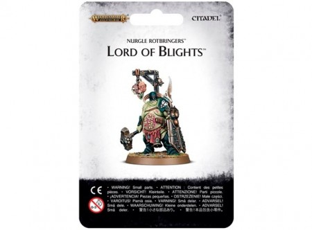 Nurgle Rotbringers - Lord of Blights