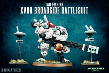 Tau Empire - XV88 Broadside Battlesuit