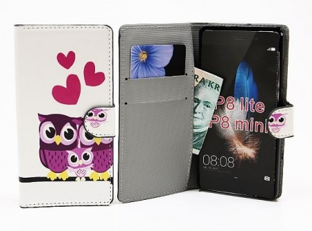 Huawei P8 Lite - Standcase Wallet - Design