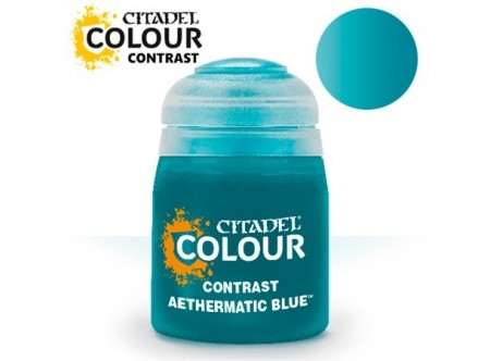 Citadel Paint Contrast - Aethermatic Blue 18 ml