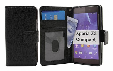New Standcase Wallet Sony Xperia Z3 Compacy (D5803) - Sort