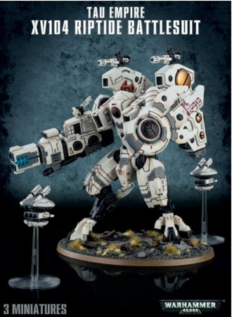 Tau Empire - XV104 Riptide Battlesuite