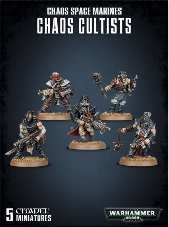 Chaos Space Marines - ETB Chaos Cultists