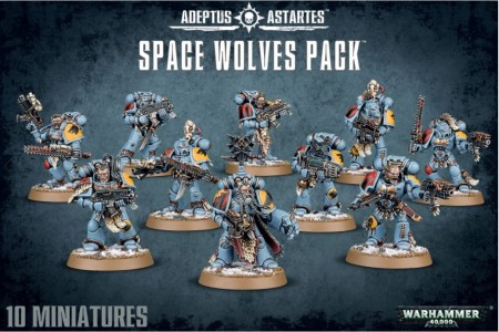 Space Wolves - Pack
