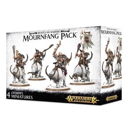 Ogor Mawtribes - Beastclaw Raiders Mournfang Pack