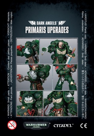 Dark Angels - Primaris Upgrades