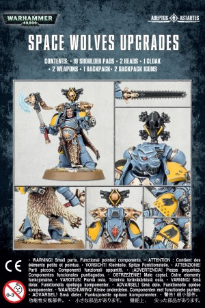 Space Wolves - Upgrades