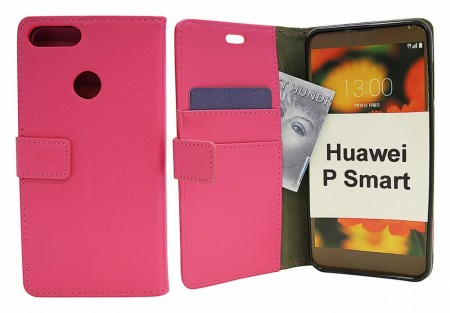 Standcase Wallet Huawei P Smart - Hotpink