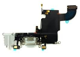 Iphone 6S Ladeport og Mikrofon Dark Grey Mørk Grå