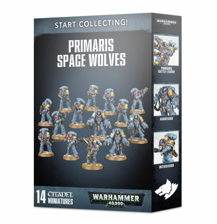 Space Wolves - Start Collecting!